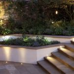 Outdoor Sign Lighting Stair