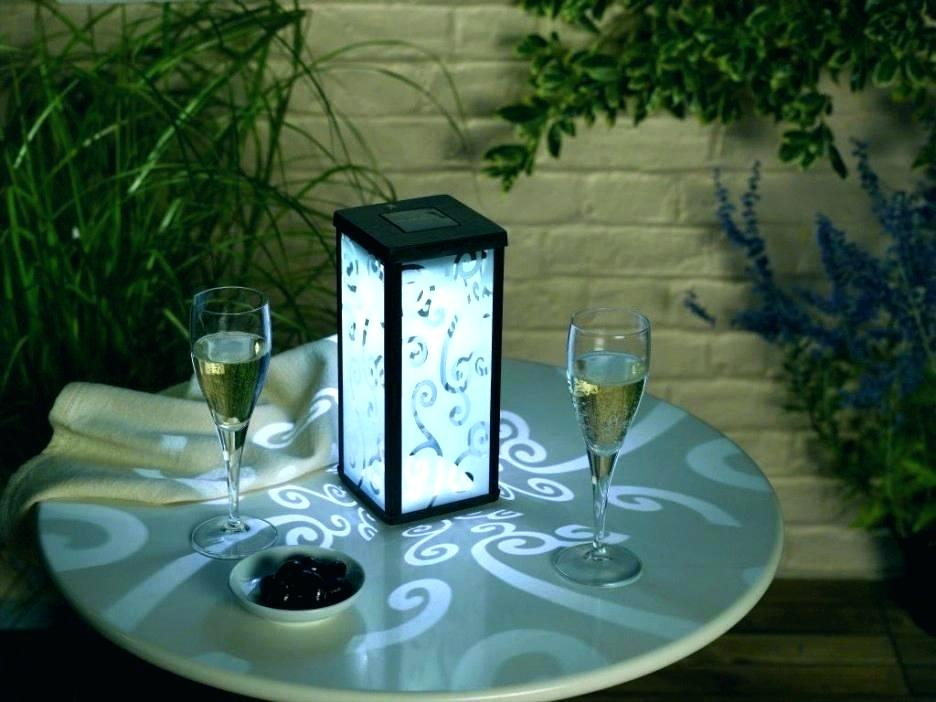 Outdoor Solar Table Lamp Dining
