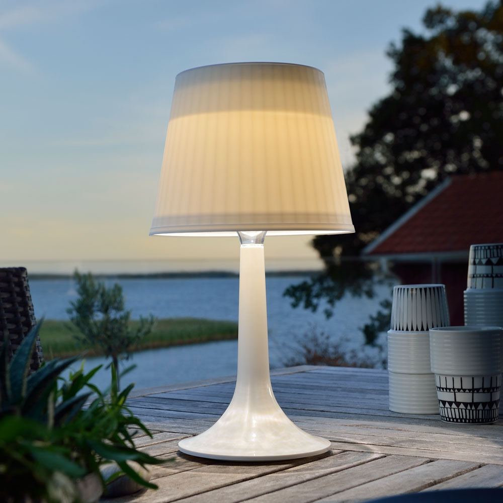 Outdoor Solar Table Lamp Model