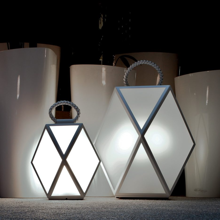 Outdoor Solar Table Lamp Shapes