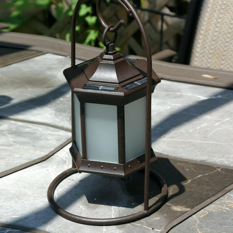 Outdoor Solar Table Lamp Type
