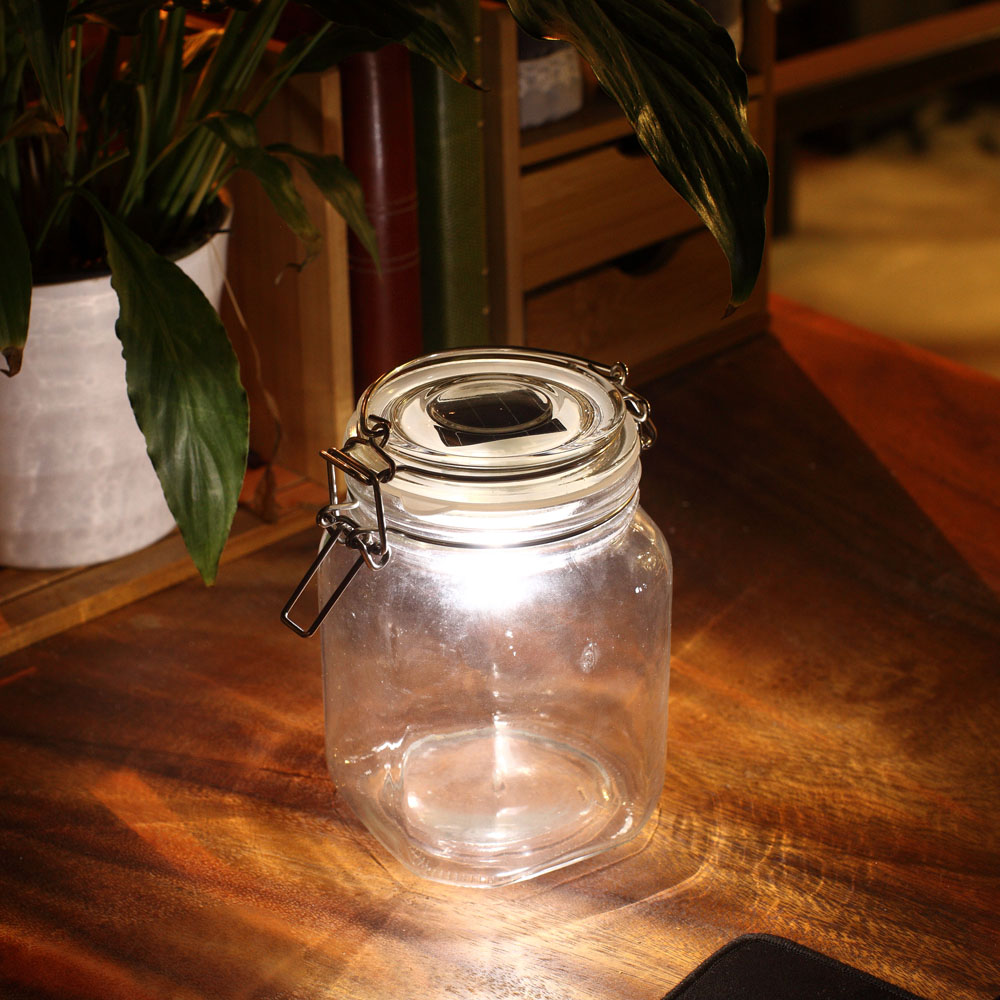 Picture of: Outdoor Table Lamp Jar
