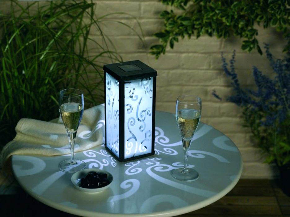 Picture of: Outdoor Table Lamps At Home Depot