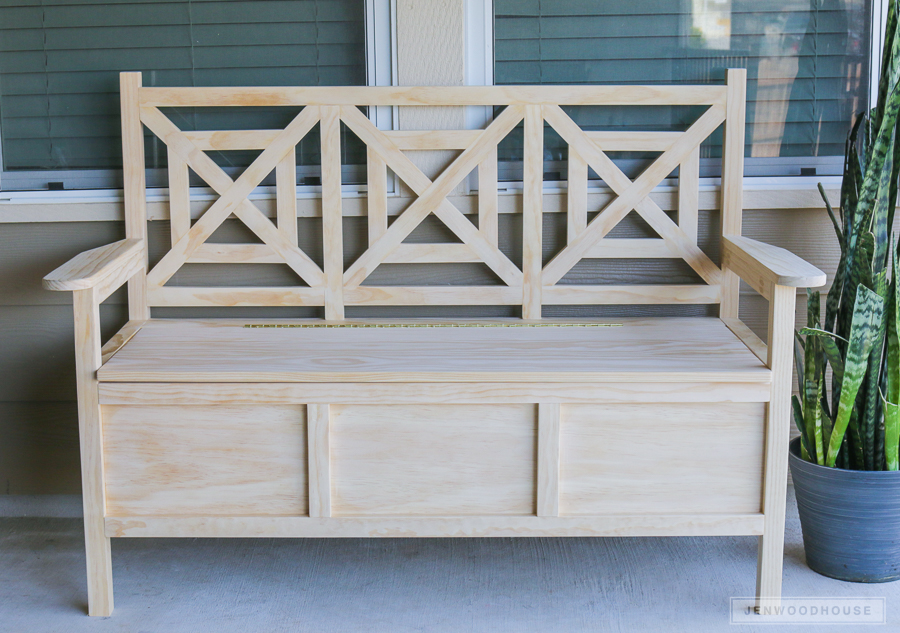 Outdoor Wooden Bench Table