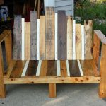 Pallet Small Wooden Bench
