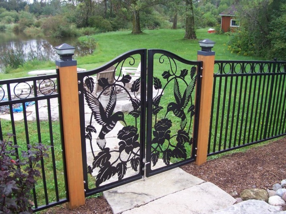 Decorative Metal Fencing Ideas