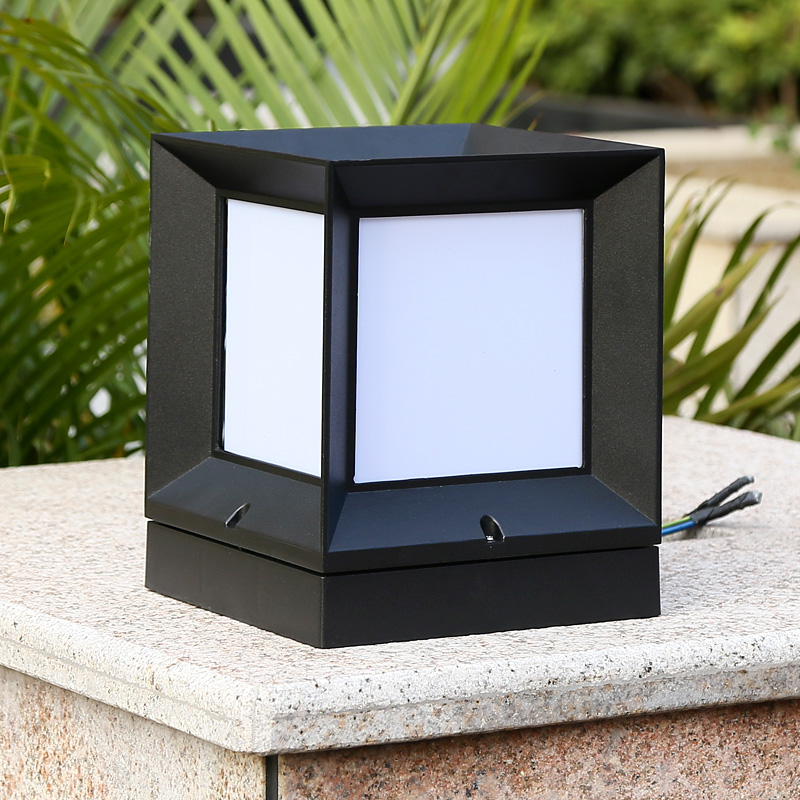 Picture of: Patio Outdoor Column Lights