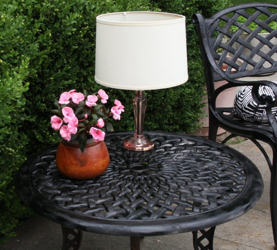 Picture of: Perfect Outdoor Table Lamp