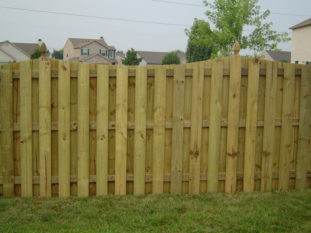 Picture of: Perfect Types of Wood Fences