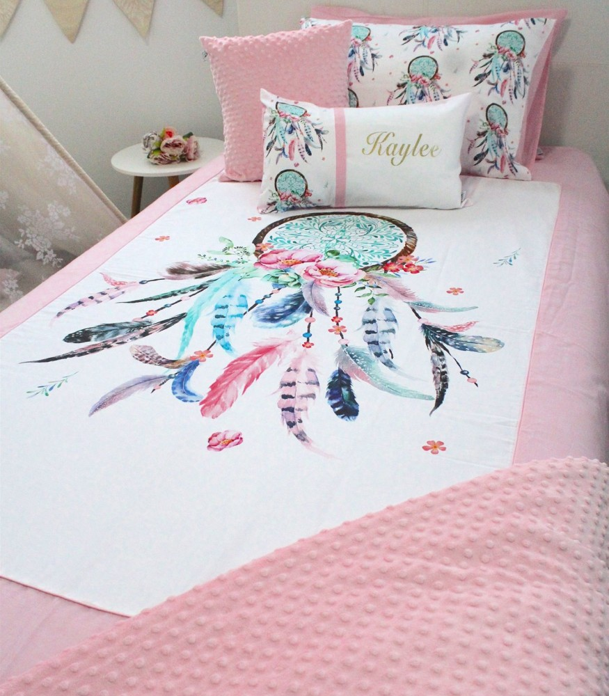 Pink Dreamcatcher Bedding Set