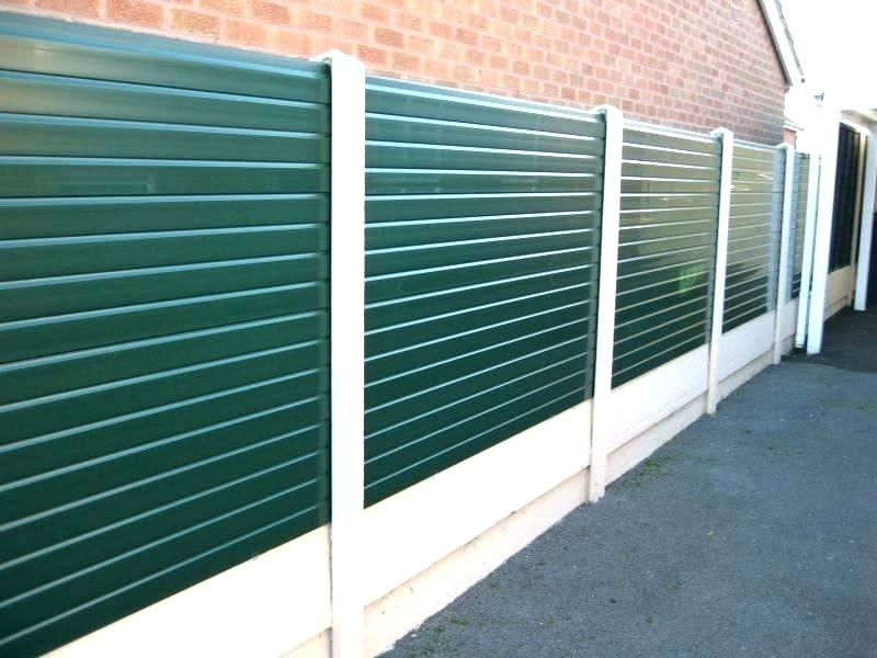 Picture of: Plastic Fence Panels Ideas