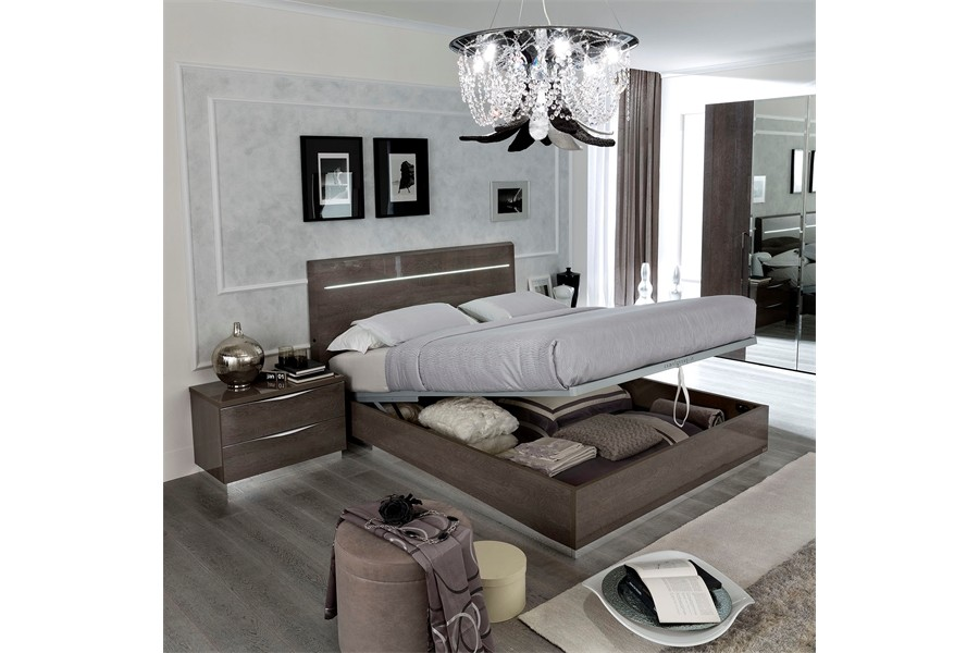 Picture of: Platinum Bedroom Set and Storage