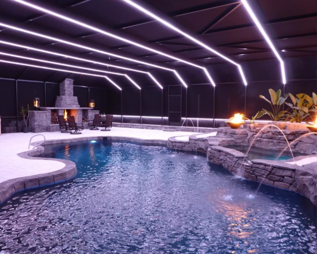 Picture of: Pool Outdoor Led Strip Lighting