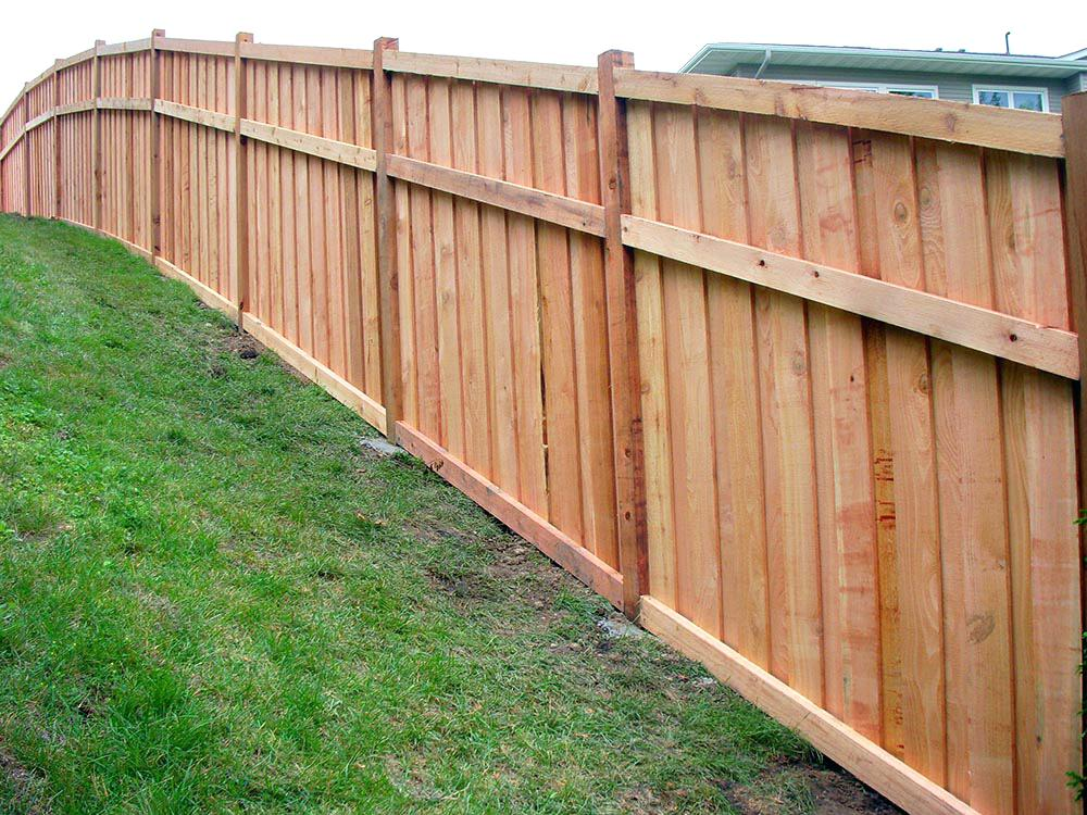 Picture of: Popular Installing Fence Panels