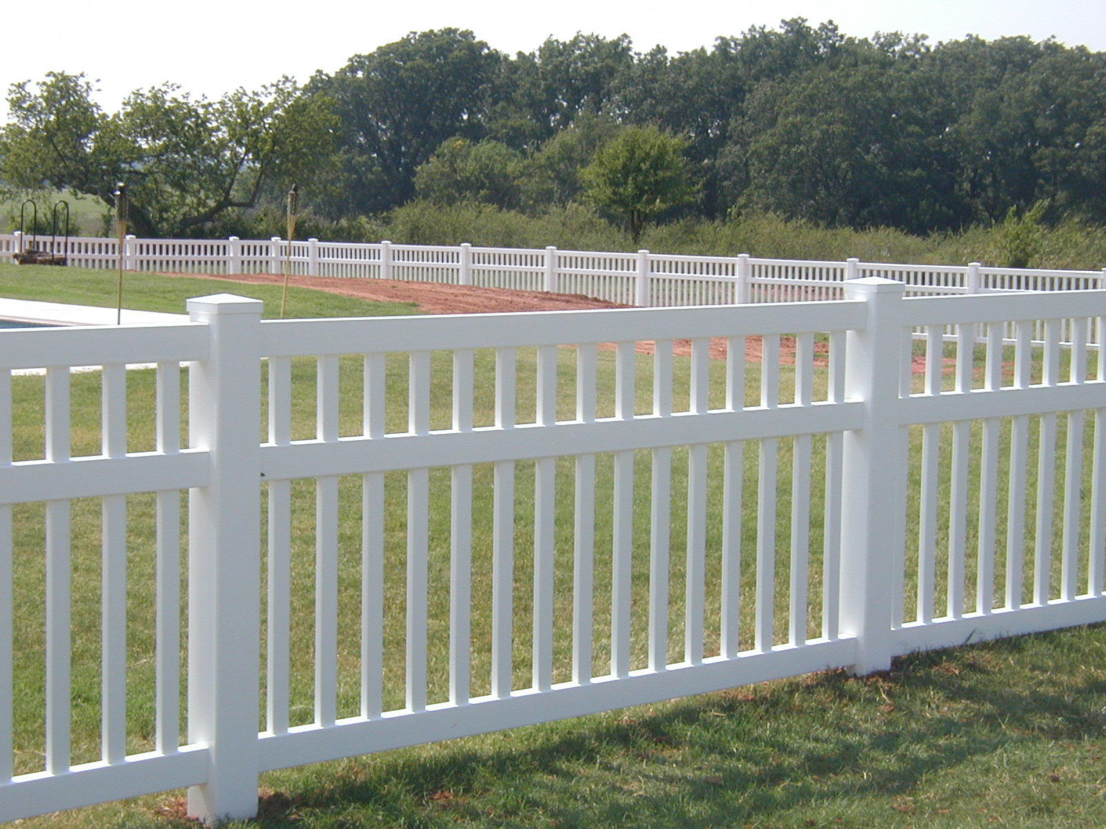 Picture of: Popular Plastic Fence Panels
