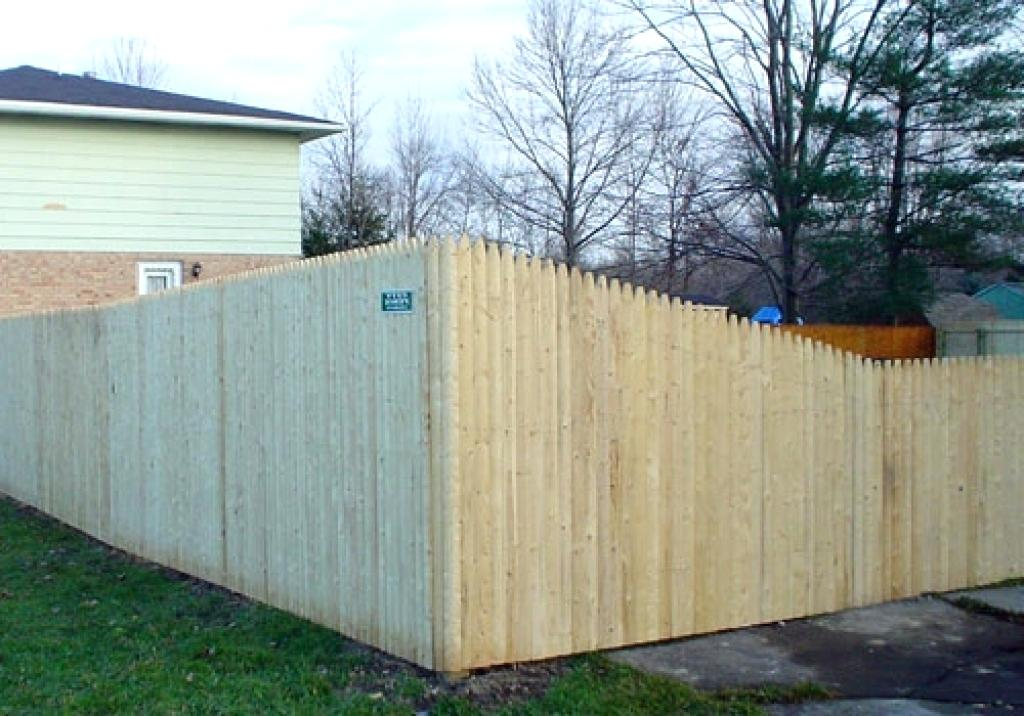Picture of: Popular Stockade Fence Panels