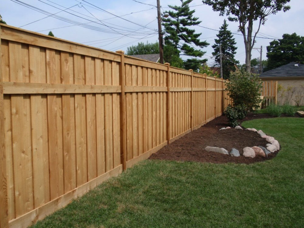 Picture of: Popular Wood Fence Designs