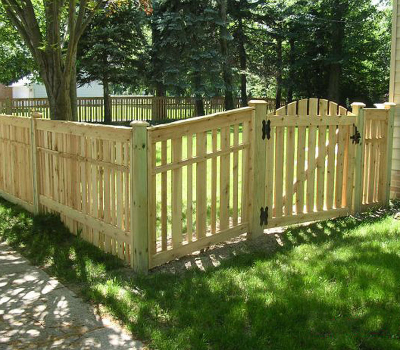 Picture of: Popular Wood Fence Gate Designs