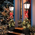 Porch Outdoor Christmas Lamp Post
