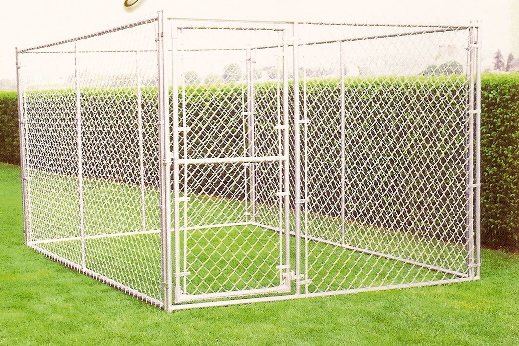 Picture of: Portable Metal Dog Fence