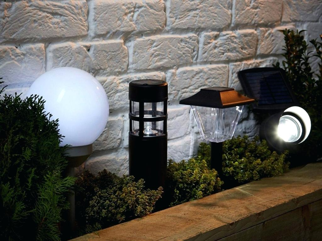 Picture of: Powered Outdoor Pole Lamps