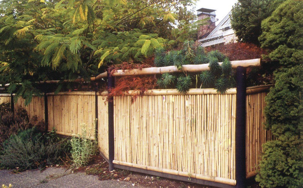 Picture of: Pre Made Fence Panels Bamboo
