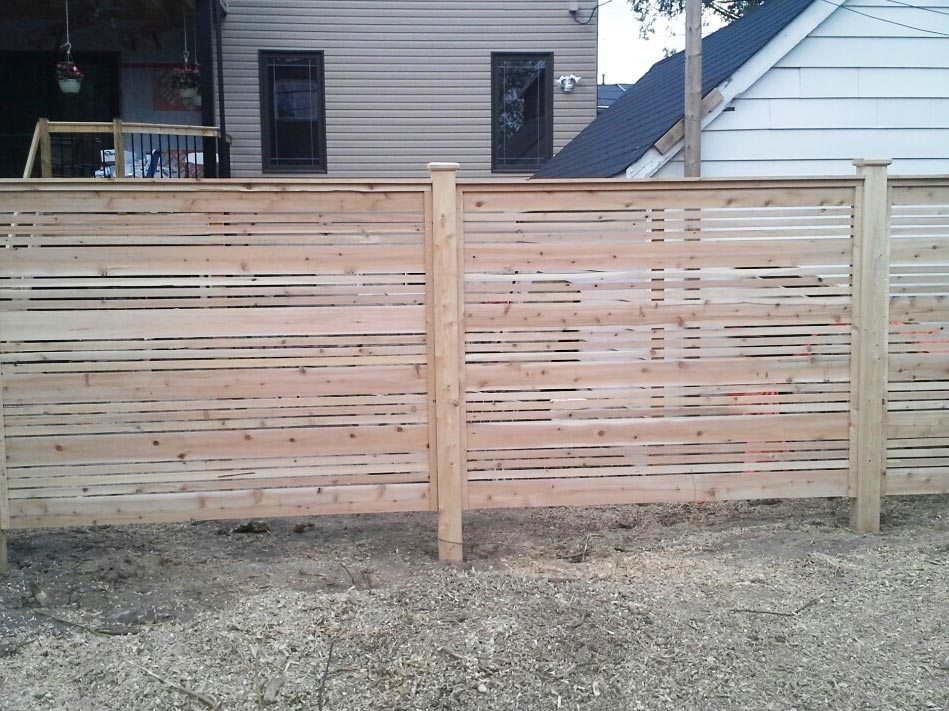 Picture of: Pre Made Fence Panels Cedar