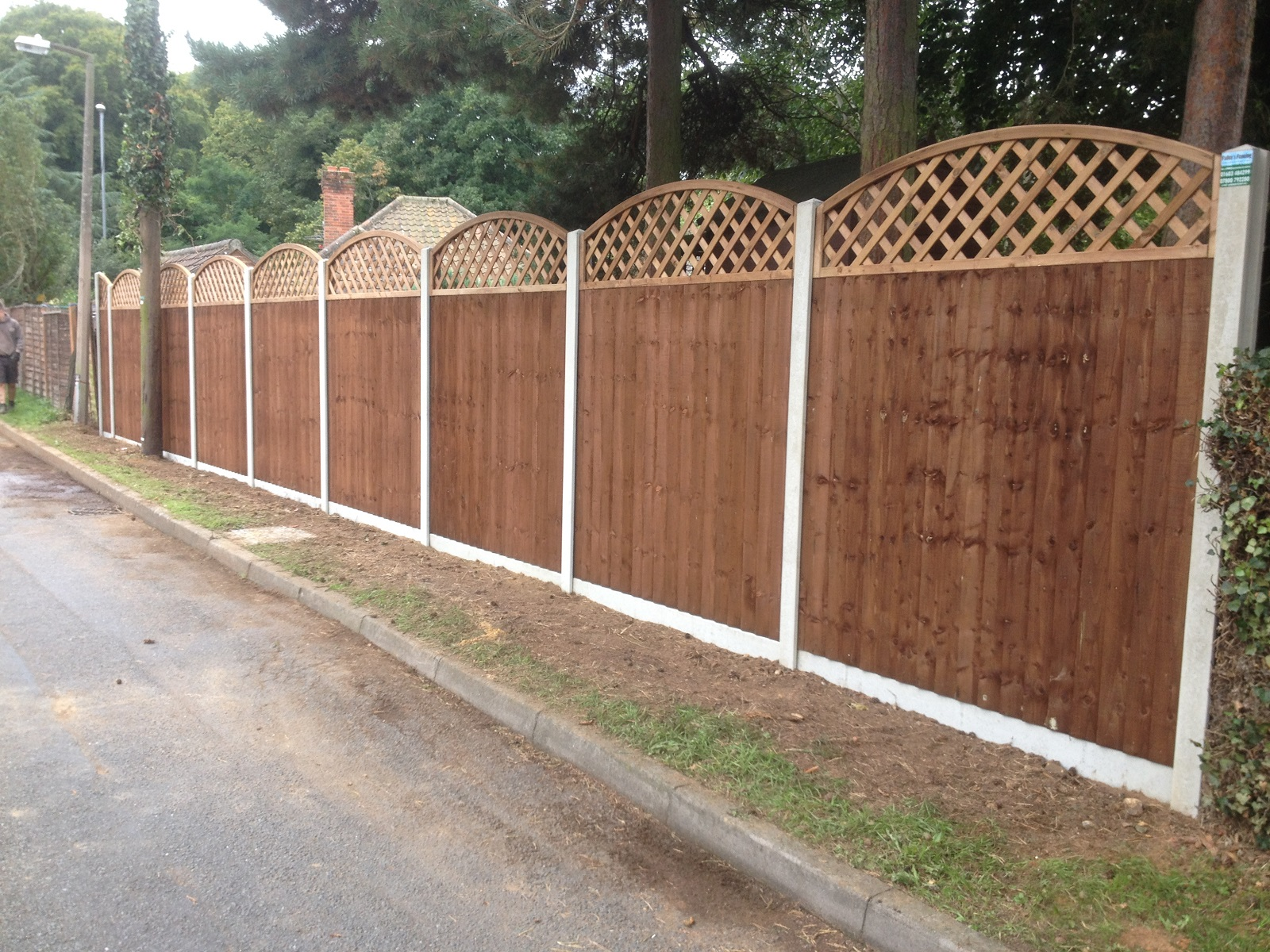 Picture of: Pre Made Fence Panels Decorative