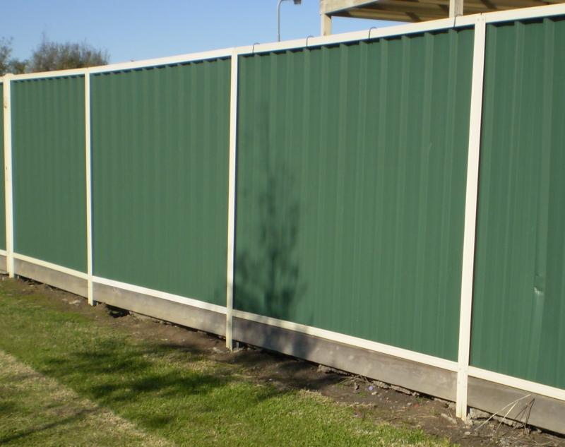 Picture of: Pre Made Fence Panels Metal