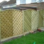 Pre Made Fence Panels Natural