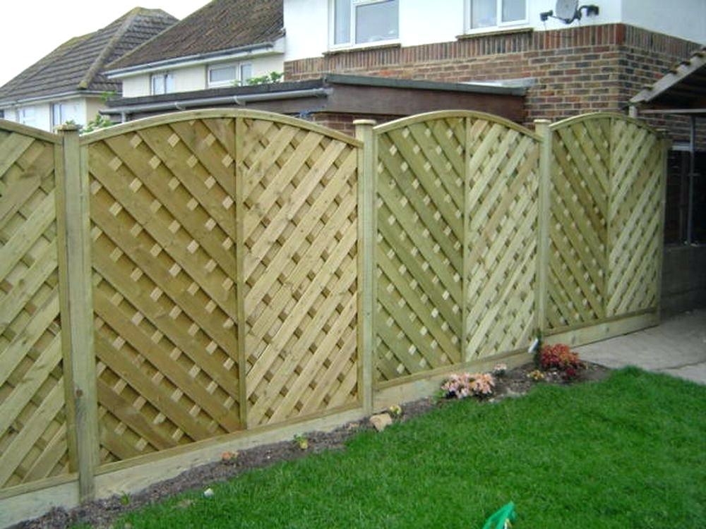 Picture of: Pre Made Fence Panels Natural