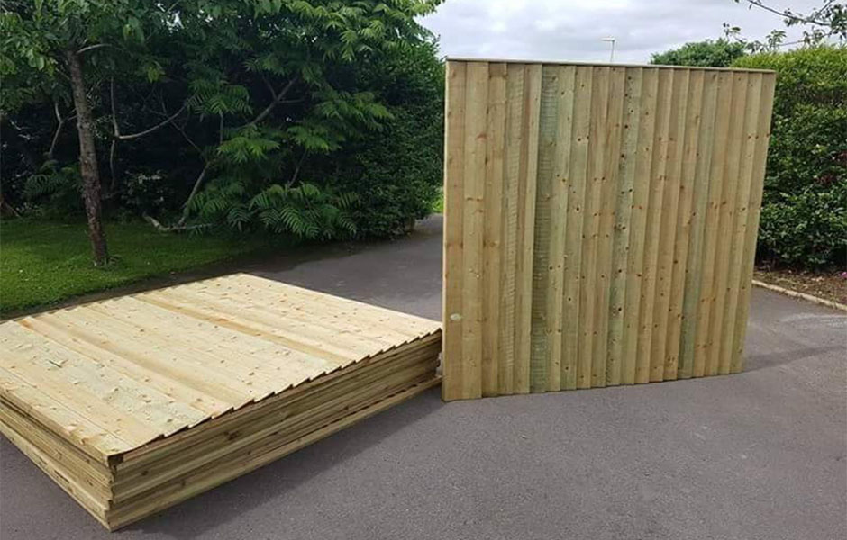 Pre Made Fence Panels Simple