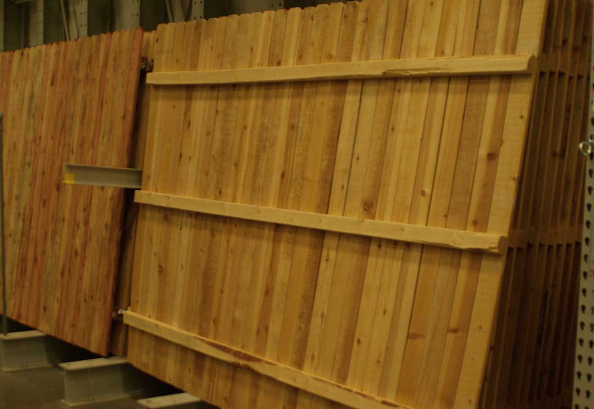 Picture of: Pre Made Fence Panels Types