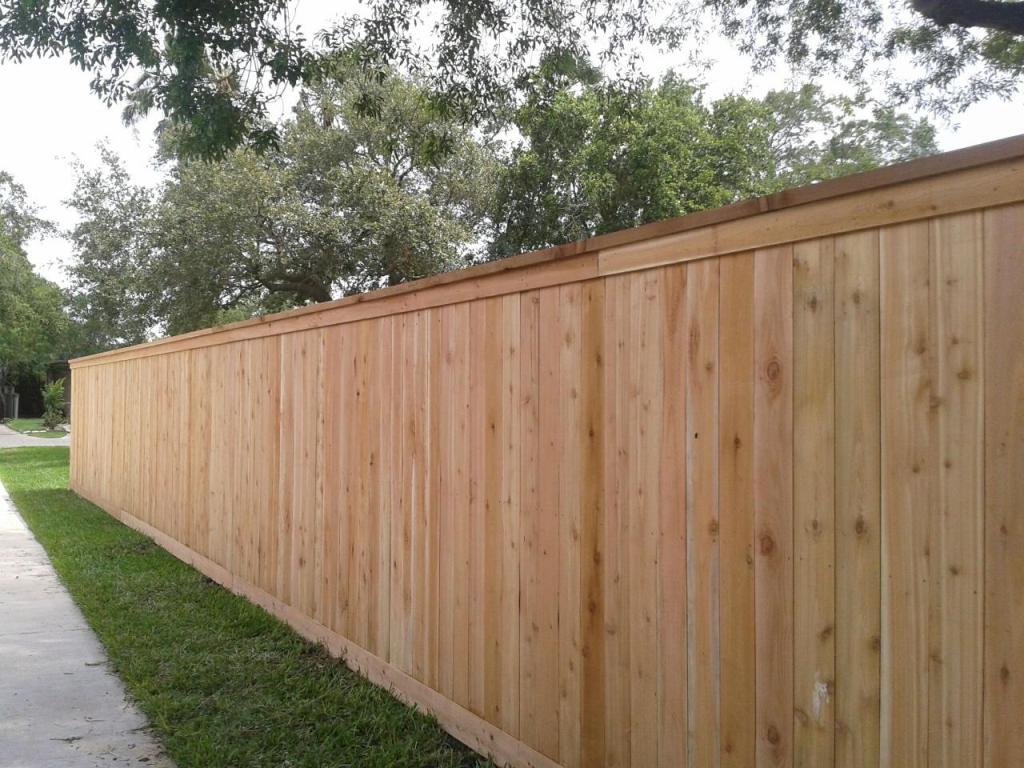 Picture of: Privacy Wood Fence Cap