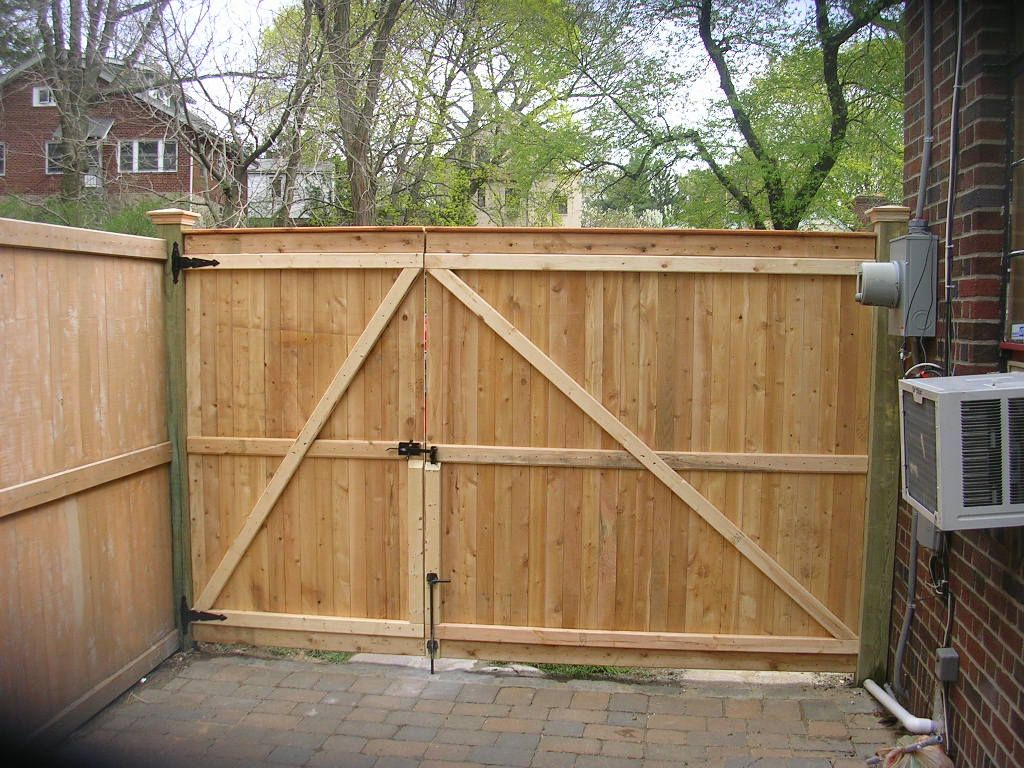 Picture of: Privacy Wood Fence Gate Designs