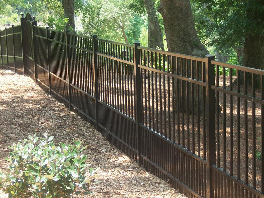 Puppy Metal Picket Fence