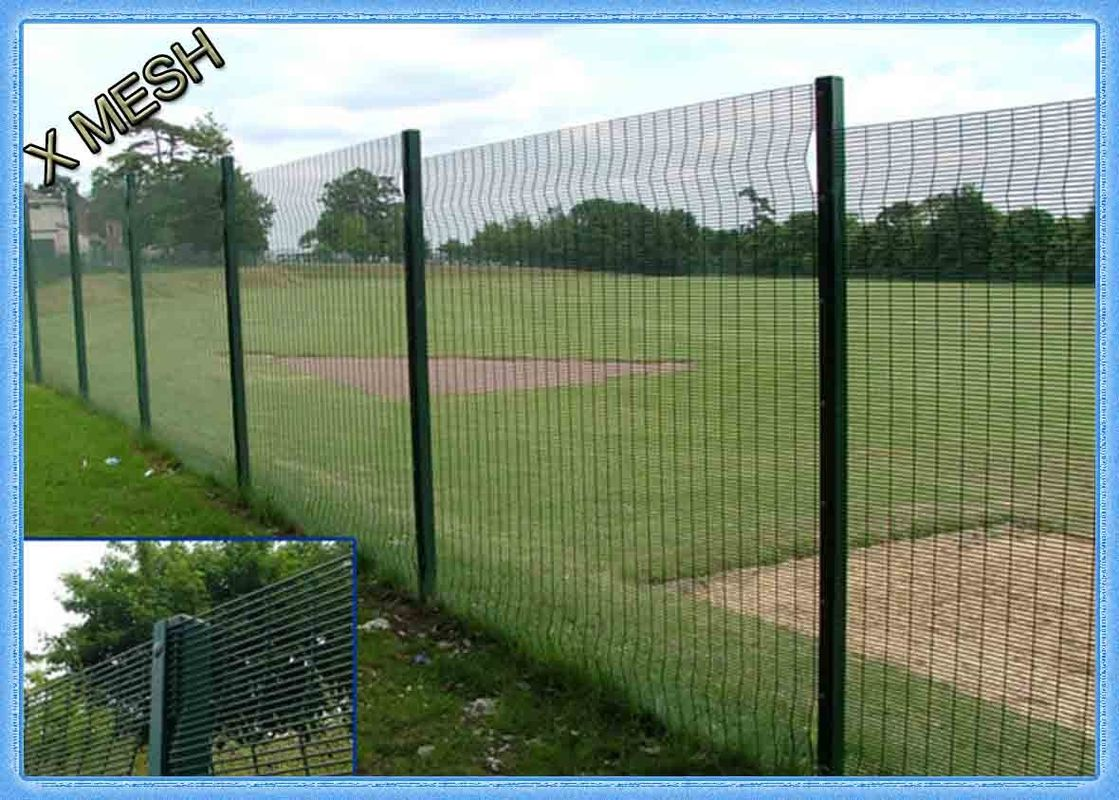 Picture of: Pvc Coated Wire Fence Panels