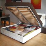 Queen Hydraulic Lift Storage Bed