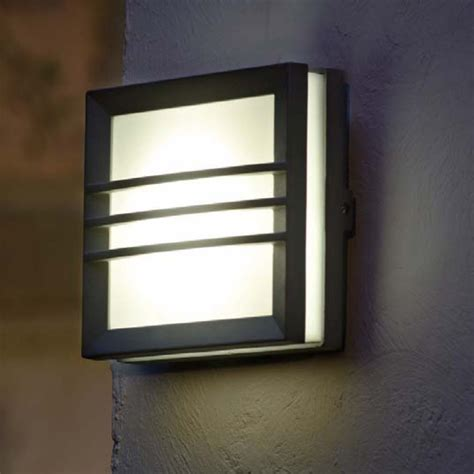 Picture of: Rectangle Outdoor Wall Lamp