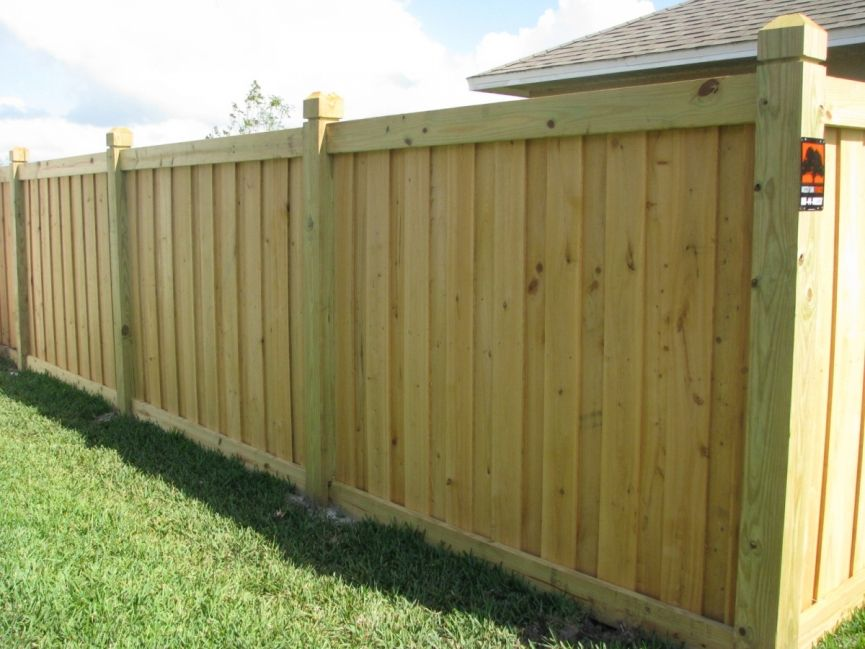Picture of: Review Board On Board Fence Panels