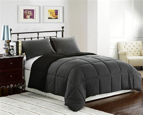 Image of: Review Grey Comforter Sets King