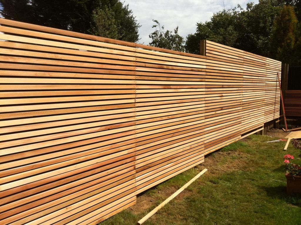 Picture of: Review Horizontal Fence Panels
