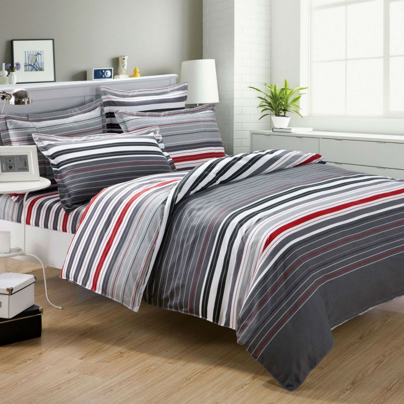 Review Red And Gray Comforter Sets