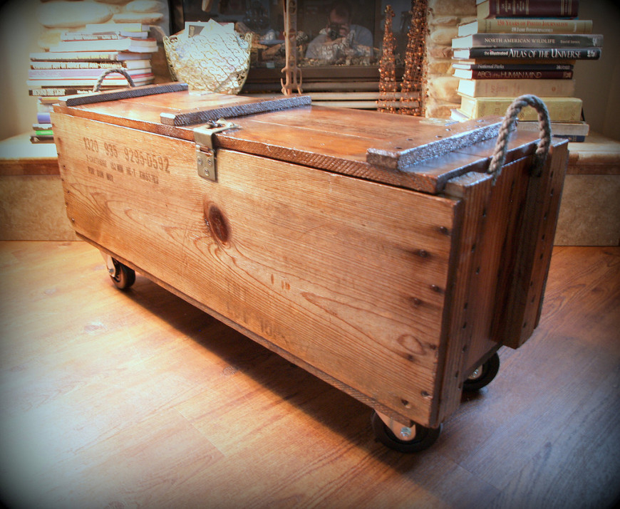 Affordable And Look Fashionable Wooden Crate Bench