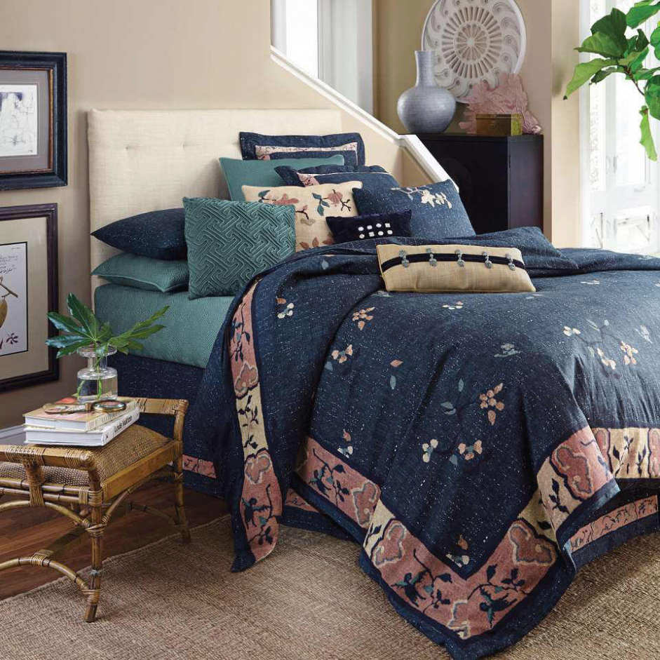 Picture of: Ross Bedding Sets Blue