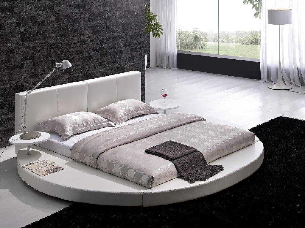 Round Contemporary Bedroom Sets