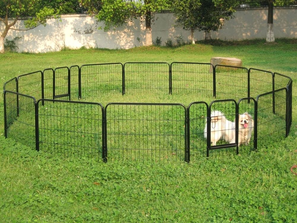 Picture of: Round Dog Fences