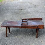 Rustic Antique Wooden Bench