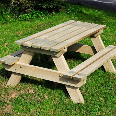 Picture of: Rustic Kids Wooden Bench