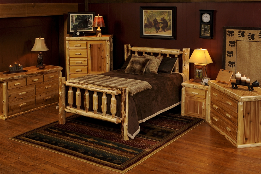 Rustic Log Bedroom Sets